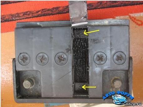 Ремонт банки аккумулятора автомобиля своими руками 50